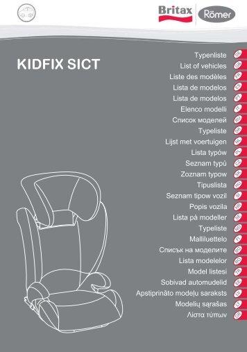 kidfix sict - Britax Römer