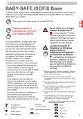 BABY-SAFE ISOFIX Base - Page 5