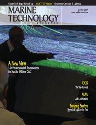 Marine Technology Reporter - November 2007