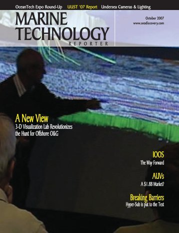 Marine Technology Reporter - November 2007