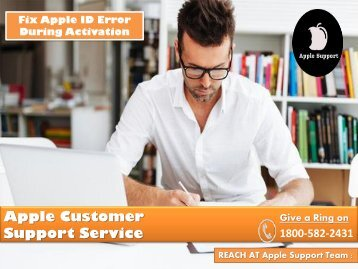 Fix Apple ID Error During Activation