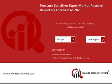 Pressure Sensitive Tapes Market Research Report - Forecast to 2023