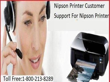 +1 800-213-8289 Nipson Printer Customer Support