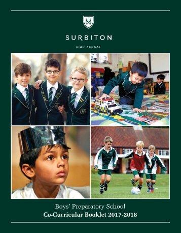 Boys Prep Co-curricular Booklet