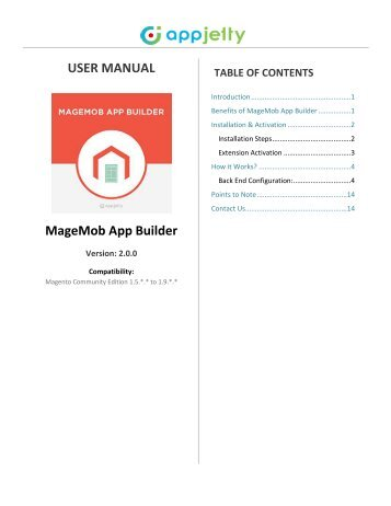 Magento Mobile App Builder, Mobile App For Magento Ecommerce Store - AppJetty