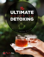The Ultimate Guide To Detoxing
