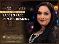 Connect To Your True Self With Face To Face Psychic Readings