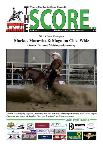 Markus Morawitz & Magnum Chic Whiz Owner - Western Star