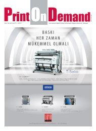 Print On Demand Mayıs 2018