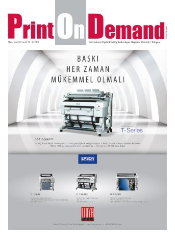 Print On Demand Mayıs 2018