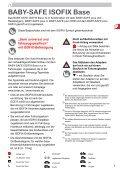 BABY-SAFE ISOFIX Base - Page 3