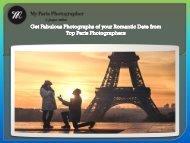 Get Fabulous Photographs of your Romantic Date from Top Paris Photographers