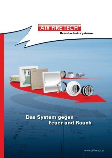 Das System gegen Feuer und Rauch - AIR FIRE TECH