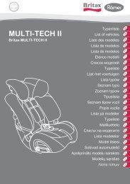 MULTI-TECH II - Britax Römer