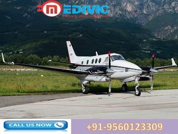 Need Emergency Air Ambulance Service in Ranchi