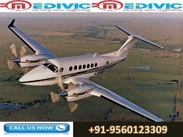 Low Fair Air Ambulance Service in Chennai by Medivic Aviation