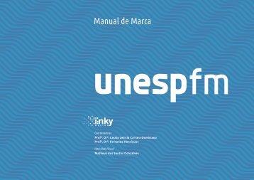 Unesp FM - Manual de Marca 2018