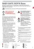 BABY-SAFE ISOFIX Base - Page 2
