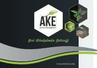 Ake Çevre Teknolojileri Online Katalog