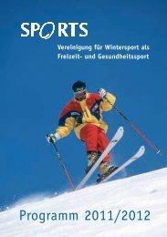 Programm 2011/2012 - Sports