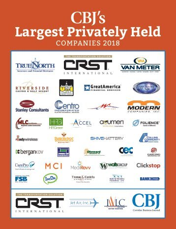 CBJ's Largest Privately Held Companies 2018