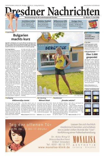 Bulgarien machts kurz - Dresdner Akzente