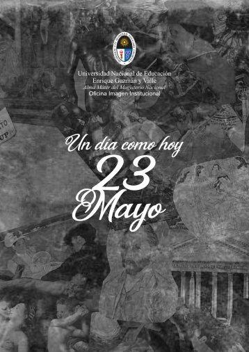que paso hoy 23 mayo