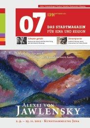 Ausgabe 39 - 07 Das Stadtmagazin . BLOG