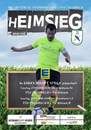 TSV Palmbach Saison 17-18 Heft 15