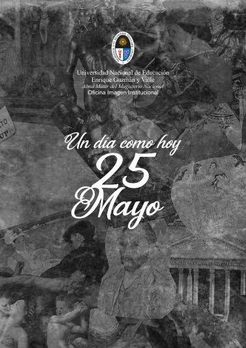 que paso hoy 25 mayo