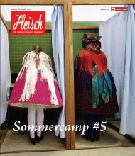 Sommercamp #5 - Fleisch