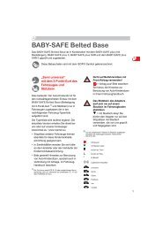 BABY-SAFE Belted Base
