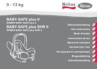 BABY-SAFE plus II - Britax