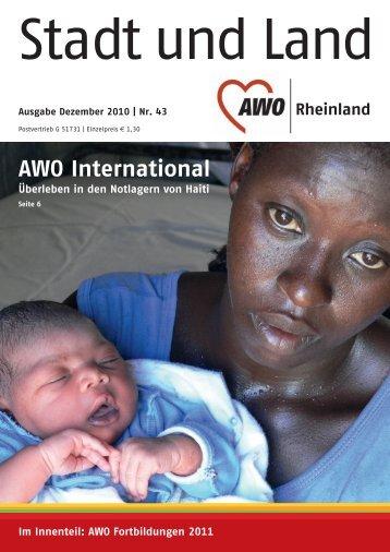 Ausgabe Dezember 2010 | Nr. 43 - AWO Rheinland