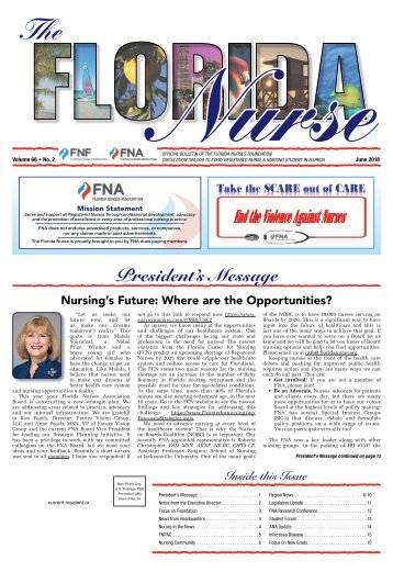 The Florida Nurse - June 2018