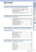 Sony NEX-5D - NEX-5D Guide pratique Polonais - Page 3