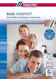 Broschüre BLUE.RESPECT - Krautol