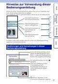 Sony NEX-5D - NEX-5D Guide pratique Allemand - Page 2