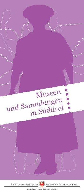 Broschüre Südtiroler Museen - Eppan