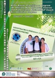 NLPU Master Practitioner Program - New Life Plus Training ...