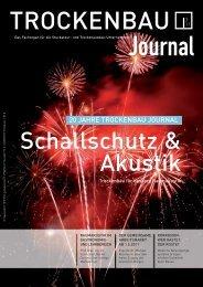 20 JAHRE TROCKENBAU JOURNAL - Sprit.org
