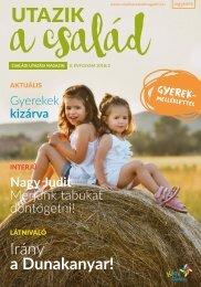Utazik a család magazin - 2018. nyár