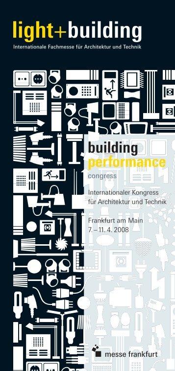 Vortragsprogramm - Architektur-Vermessung
