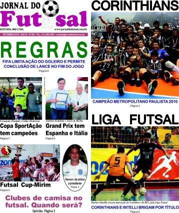 Regras: Mudança limita ação do goleiro - Jornal do Futsal