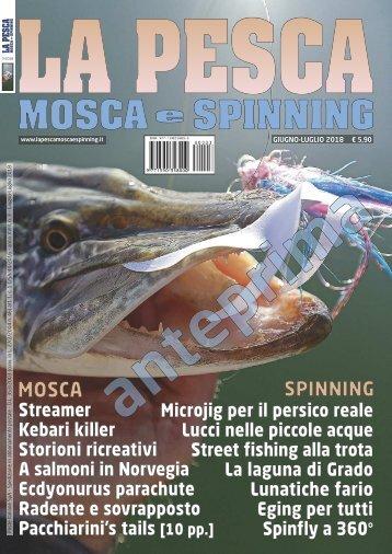 La Pesca Mosca e Spinning 3/2018