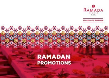 Ramada Ramadan Promotions
