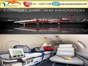 Hire an Economical Vedanta Air Ambulance from Mumbai