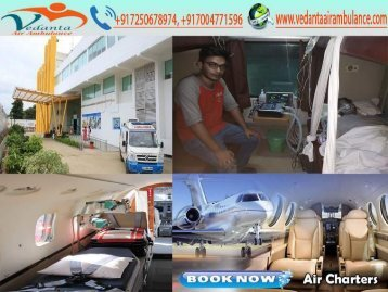 Get Any Time Vedanta Air Ambulance from Chennai to Delhi