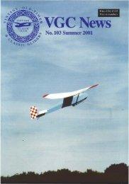 No 103 Summer 2001 - Lakes Gliding Club