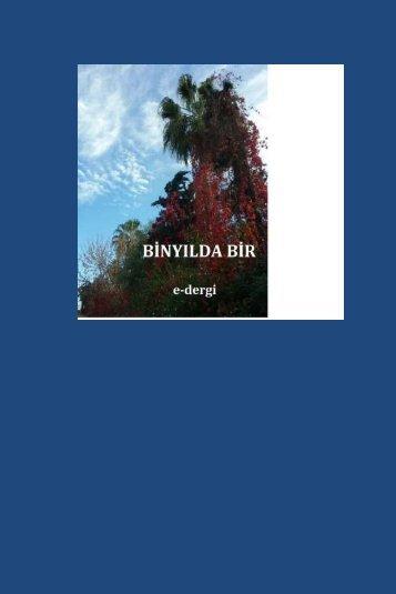 BİNYILDA BİR- e dergi